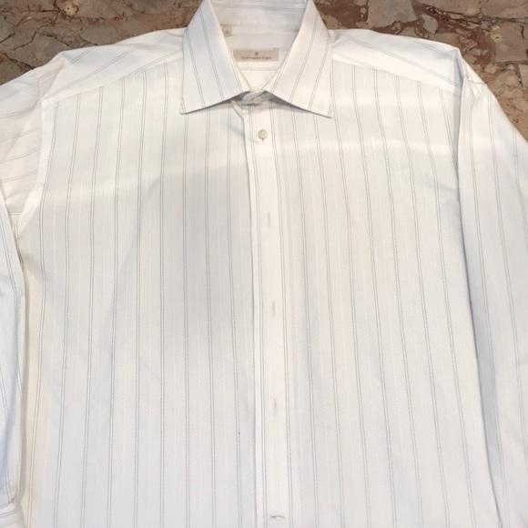 48622c14 Ermenegildo Zegna Men's Dress Shirt
